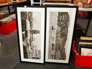 Sale 8678 - Lot 2078 - 2 Large Vintage Photographs of Hong Kong: Unveiling of the Cenotaph Empire Day 24th May 1923 & View of The Port of Hong Kong