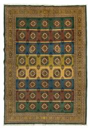 Sale 8790C - Lot 41 - A Very Fine Persian Turkaman, Wool On Cotton Foundation Classed As Tribal Rugs, 295 x 204cm