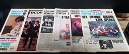 Sale 9208 - Lot 2002 - 6 Editions of Record Mirror from 1970