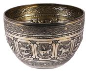 Sale 7988 - Lot 49 - English Hallmarked Sterling Silver Victorian Bowl