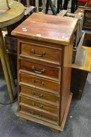 Sale 8134 - Lot 1070 - Tapering Chest Of Seven Drawers
