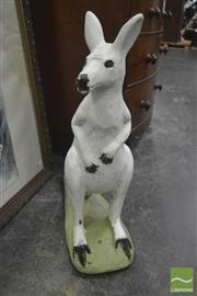 Sale 8323 - Lot 1002 - Small Concrete Kangaroo