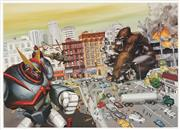 Sale 8870 - Lot 2038 - Kozyndan - King Kong vs Transformer 44 x 61cm