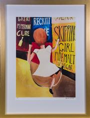 Sale 7379B - Lot 35 - Charles Blackman, 'Skipping Girl ', giclee lithograph on archival paper, edition 12/125, 89 x 67cm, hand signed