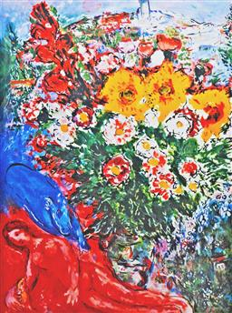 Sale 8203A - Lot 48 - Marc Chagall (1887-1985), After. - Untitled 68 x 49.5cm
