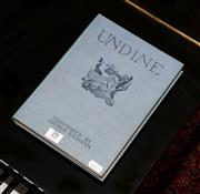Sale 8107B - Lot 79 - UNDINE by De La Motte Focque, illustrated by Arthur Rackham, adapted from the German by W. L. Courtney, 1925 reprint Hardcover cov...