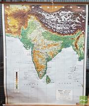 Sale 8383 - Lot 1061 - Educational Map of India and Pakistan