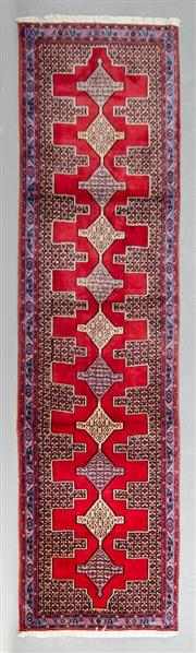 Sale 8499C - Lot 13 - Persian Hamandan Runner 350cm x 95cm