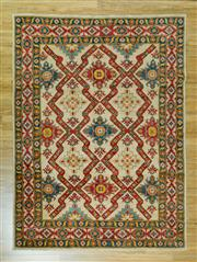 Sale 8617C - Lot 16 - Afghan rug 253x188