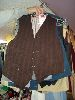 Sale 7490 - Lot 1238 - 10 ASSORTED MENS VESTS (CHEST 34-36)