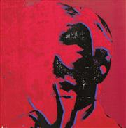 Sale 8173A - Lot 67 - After Andy Warhol (1928 - 1987) - Andy Warhol Red 50 x 50cm