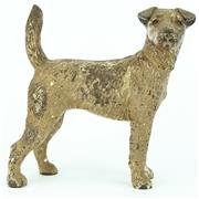 Sale 8332 - Lot 17 - Cold Painted Bronze Airedale Terrier Figure
