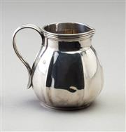 Sale 8518A - Lot 52 - A Hallmarked Sterling Silver creamer with inscription, by Fairfax and Roberts of Sydney, stamped London 1913, height 7cm