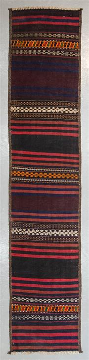 Sale 8499C - Lot 14 - Persian Kilim Runner 280cm x 60cm