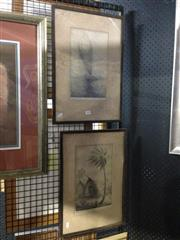 Sale 8767 - Lot 2069 - Pair of Original Sketches dated 1944