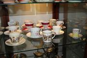 Sale 8151 - Lot 82 - Royal Albert Chelsea Bird Trio with Other Cup Sets incl Wedgwood Summer Bouquet