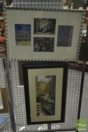 Sale 8525 - Lot 2094 - Venice Print & Another