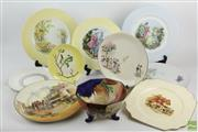 Sale 8546 - Lot 36 - Cabinet And Other Plates And Ceramics Incl Doulton, Shelley And Carltonware