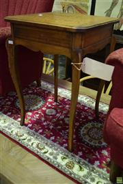 Sale 8566 - Lot 1736 - Timber Occasional table