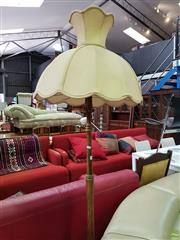 Sale 8570 - Lot 1099 - Modern Standard Lamp and Timber Example