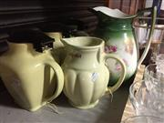 Sale 8659 - Lot 2238 - Collection of Ceramic Kettles & Jug