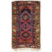 Sale 8830C - Lot 6 - An Antique Caucasian Karabagh (Prayer Rug) in Handspun Wool 213x120 cm