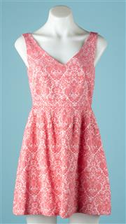 Sale 9027F - Lot 56 - A Max  & Co Dress in pink floral design (New with Tags), size 6