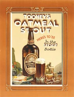 Sale 9099A - Lot 5100 - Walter Jardine (1884 - 1970 ) - Tooheys Oatmeal Stout 58 x 45.5 cm (sheet)