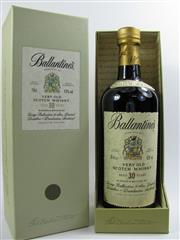 Sale 8290 - Lot 425 - 1x Ballantines 30YO Blended Scotch Whisky - in box