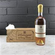 Sale 9905W - Lot 615 - 1x 2007 Chateau Doisy Daene LExtravagance de Doisy Daene, Sauternes -  375ml half-bottle in timber box