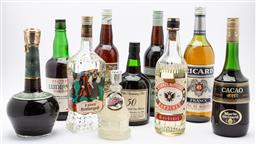 Sale 9099 - Lot 212 - A collection of aperitifs and ports.