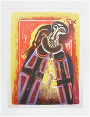 Sale 8203A - Lot 34 - Leonard William French (1928 - ) - Boris Godunov, 1980 67 x 50cm