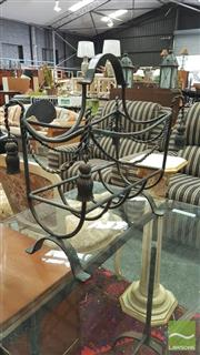 Sale 8404 - Lot 1069 - Metal Magazine Rack