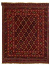 Sale 8790C - Lot 100 - A Persian Meshvani Village Rug, Wool On Cotton Foundation Classed As Tribal Sumak, 190 x 148cm