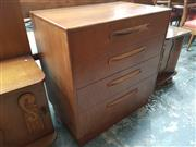 Sale 8859 - Lot 1073 - G-Plan Teak 4-Drawer Chest