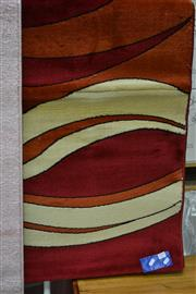 Sale 7987A - Lot 1389 - Brand New Rug Modern Style Cream & Red (160 x 230cm)