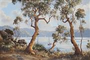 Sale 8722A - Lot 5082 - Brian Baigent (1929 - ) - Quiet Day on Cowan Waters 49.5 x 75cm