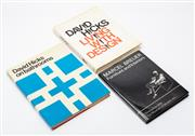 Sale 8864 - Lot 9 - Three books on design and interiors including David Hicks, Living with Design and Bathrooms together with Marcel Bruer Furniture and...