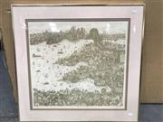 Sale 9033 - Lot 2085 - Greg Hyde, Sydney sailing, lithograph ed. 107/250, 65 x 65cm (frame), signed lower right