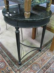 Sale 7932A - Lot 1159 - Marble Topped Circular Occasional Table