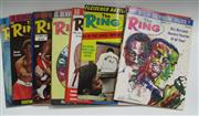Sale 8125 - Lot 82 - The Ring 1970, a complete set of 12 issues with covers as issued.