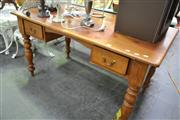 Sale 8159 - Lot 1059 - Two Drawer Timber Desk