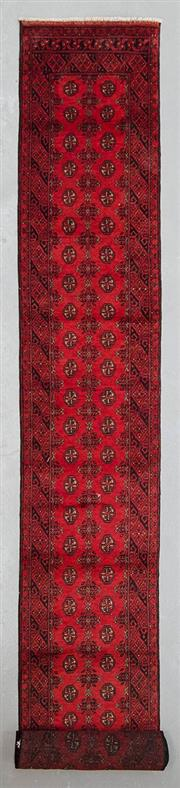 Sale 8499C - Lot 19 - Afghan Turkman Runner 590cm x 80cm