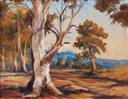Sale 8575A - Lot 5068 - William Frater (1890 - 1974) - Old Gums, Kiewa Valley 39 x 49.5cm