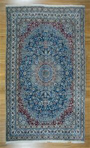 Sale 8665C - Lot 7 - Persian Nain Silk Inlaid 302cm x 202cm