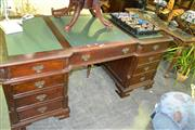 Sale 8093 - Lot 1325 - Reproduction Partners Desk