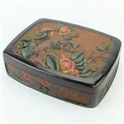 Sale 8372 - Lot 98 - Meiji Lacquerware Box