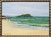 Sale 8422T - Lot 2077 - David Badcock (1960 - ) - Great Keppel Island 26 x 36cm