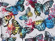 Sale 8451E - Lot 5002 - David Bromley (1960 - ) - Butterflies 77 x 104cm