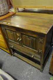 Sale 8566 - Lot 1651 - Small Timber Two Door Sideboard